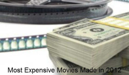 Most expensive movies in 2012