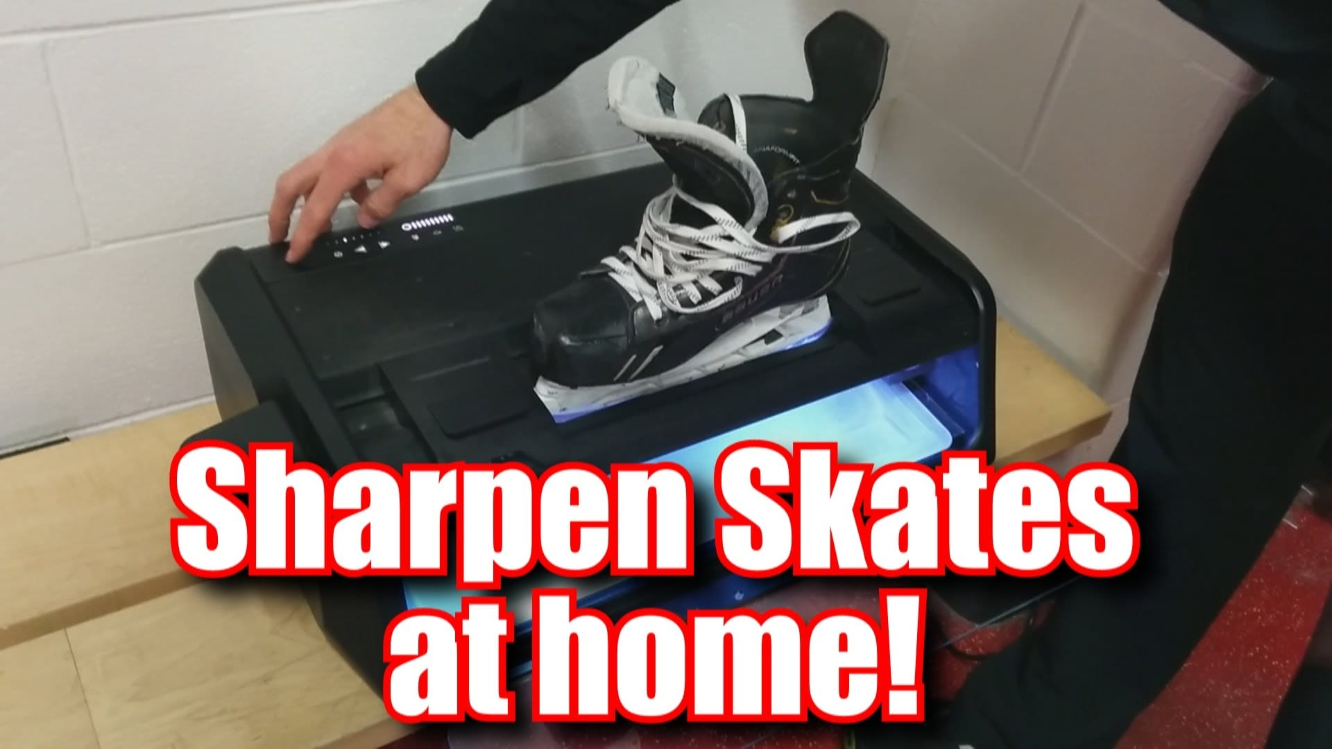Sparx Skate Sharpener Review & Coupon Code - Sharpen Your ...