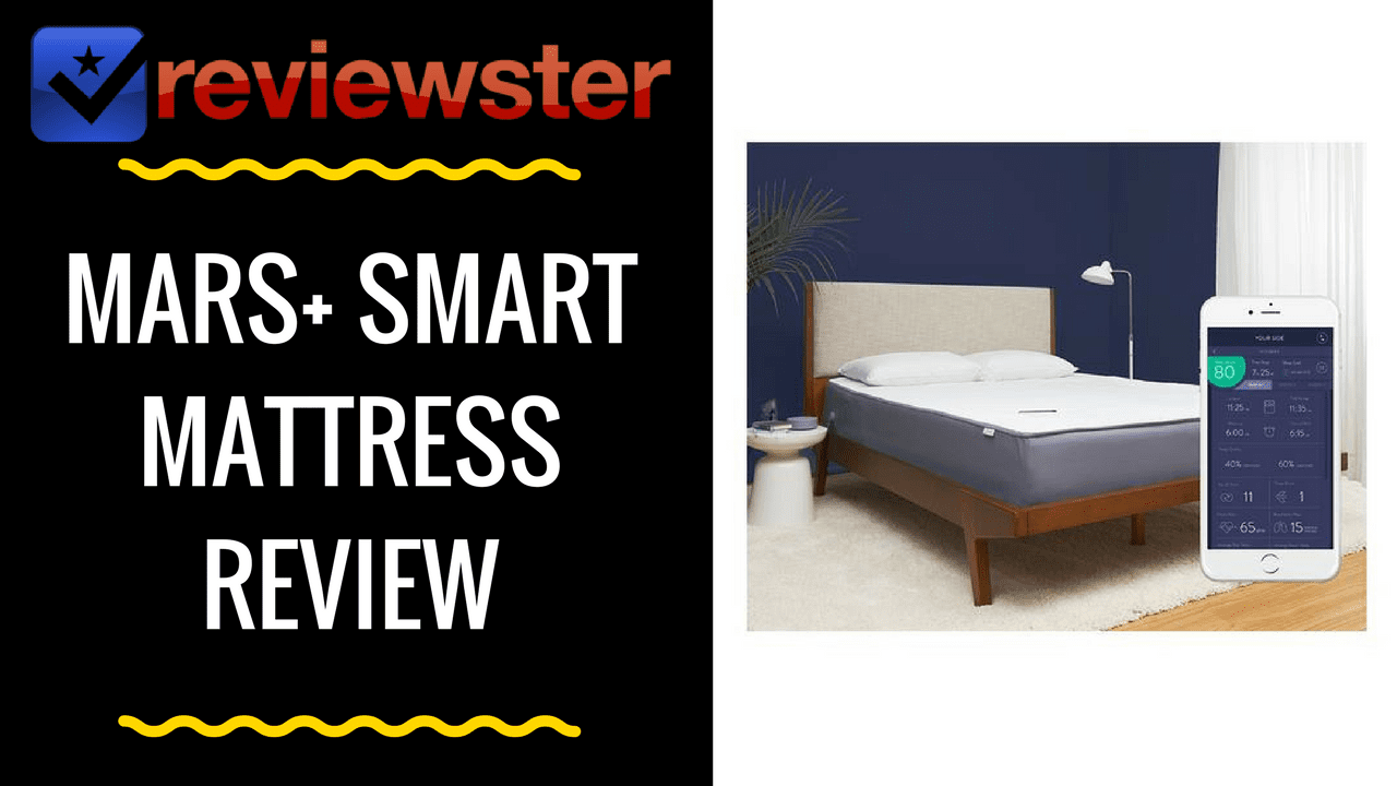 Mars+ Smart Mattress Review & Coupon Code by Eight Sleep
