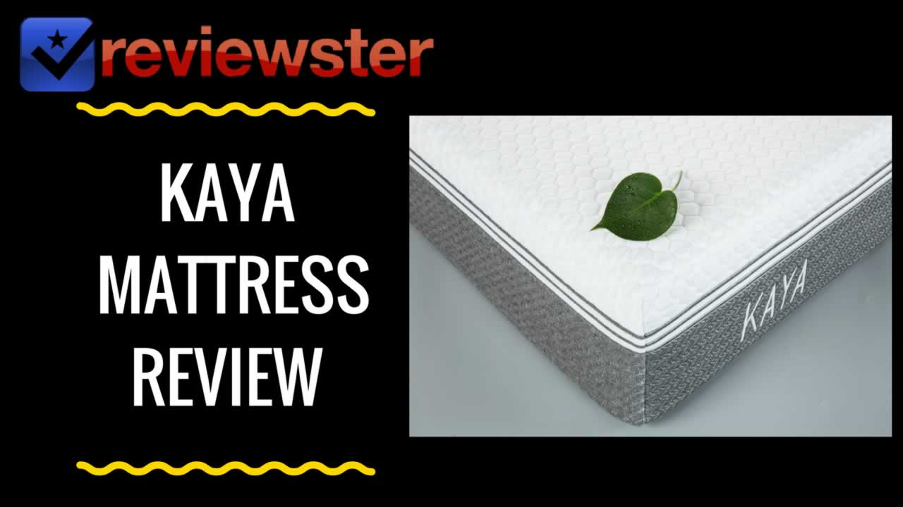 KAYA Mattress Review + Promo Codes