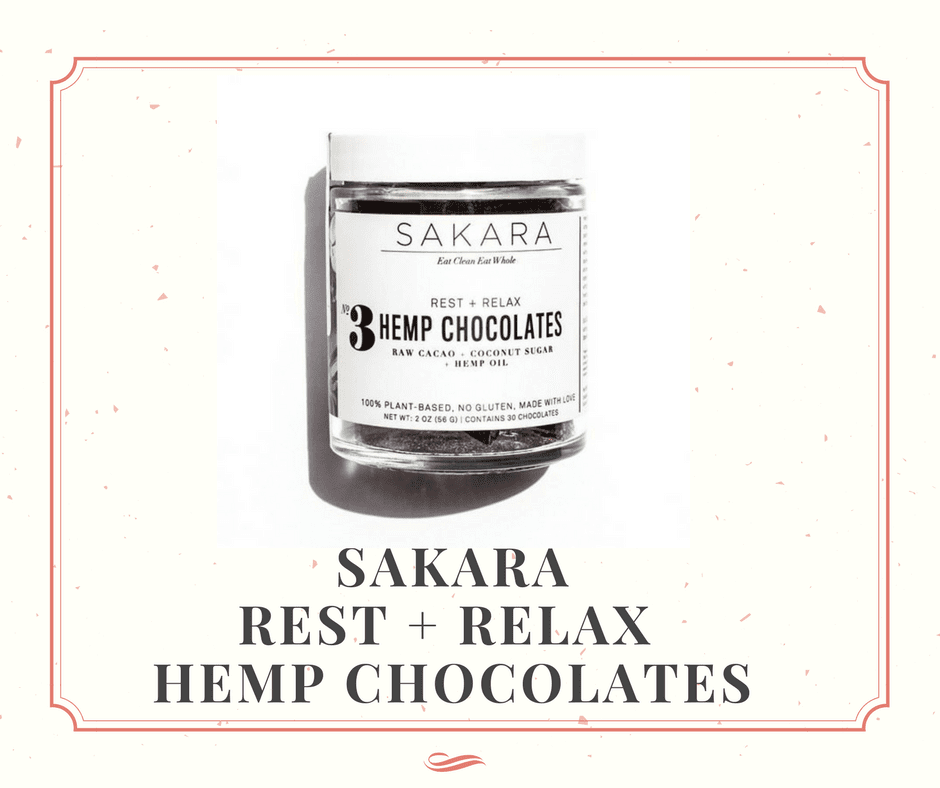 SAKARA Rest+ Relax Hemp Chocolate