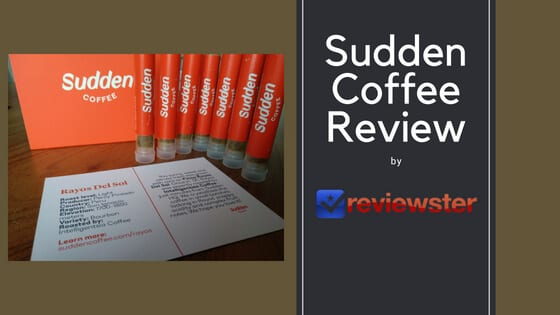 Sudden Coffee Review – Is This The Best Instant Coffee?