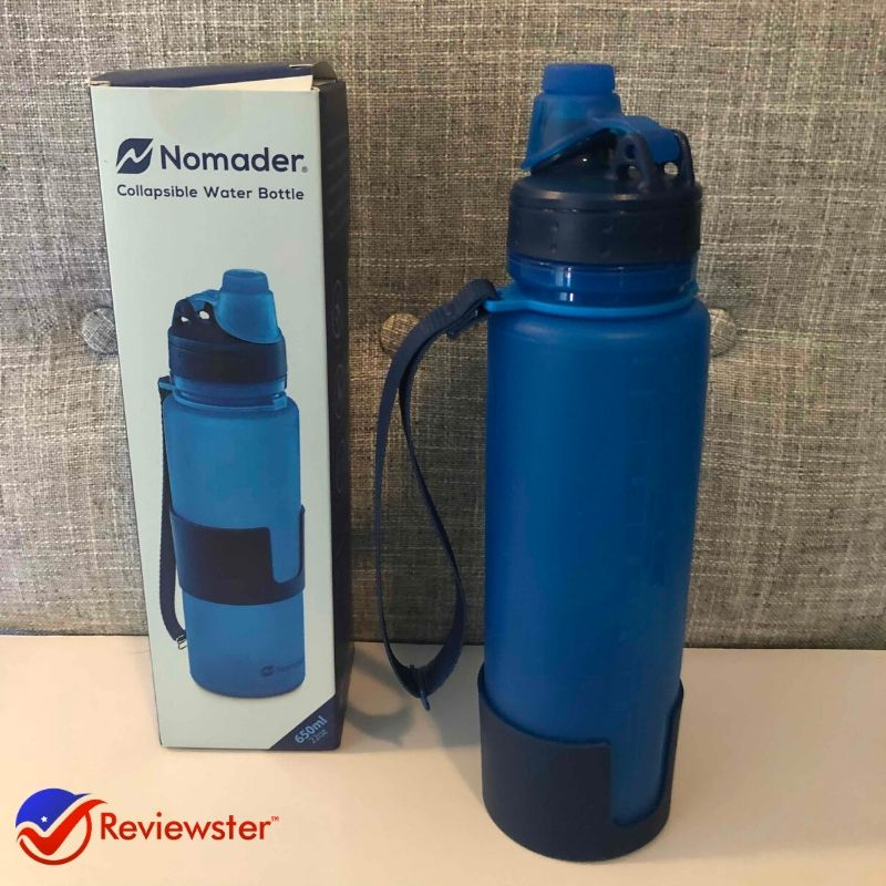 Nomader Water Bottle Review – Collapsible Water Storage