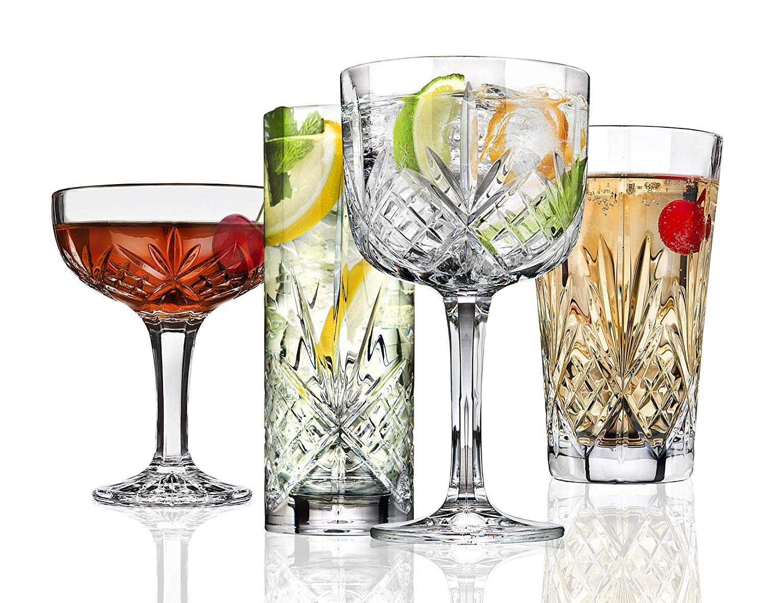best glassware for gin and tonic