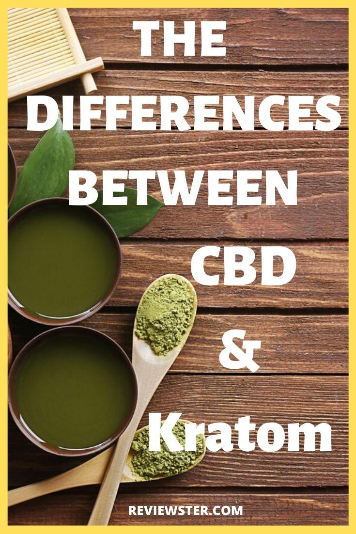 CBD vs. Kratom