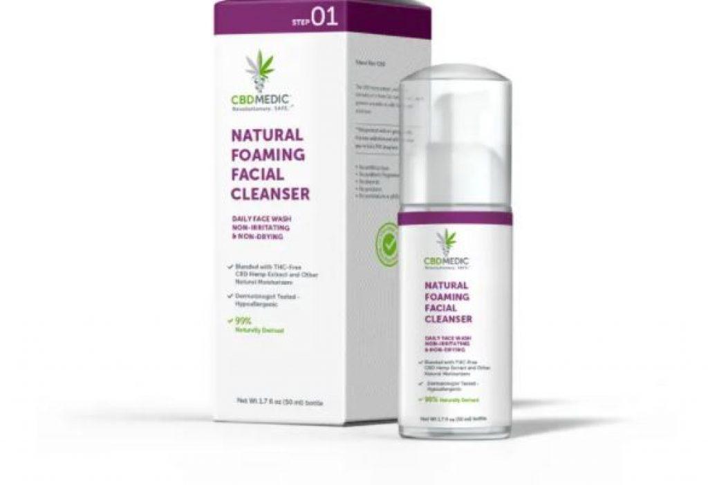 Charlotte's Web CBDMEDIC™ Natural Foaming Facial Cleanser