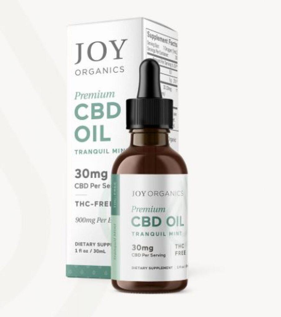 Joy Organics CBD Oil Tinctures