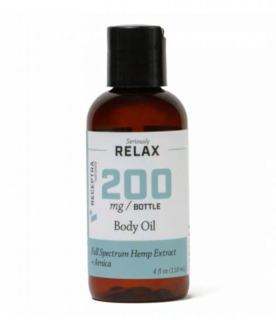 Receptra Naturals Seriously Relax + Arnica Body Oil