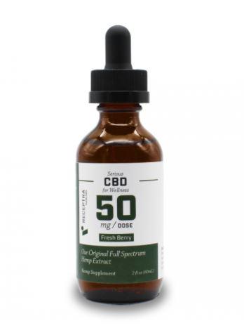 Receptra Naturals Serious Wellness CBD 50mg
