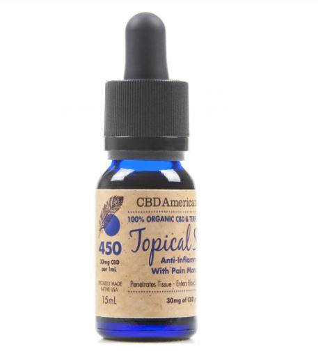 CBD American Shaman Terpene Rich Topical Serum (15ml)