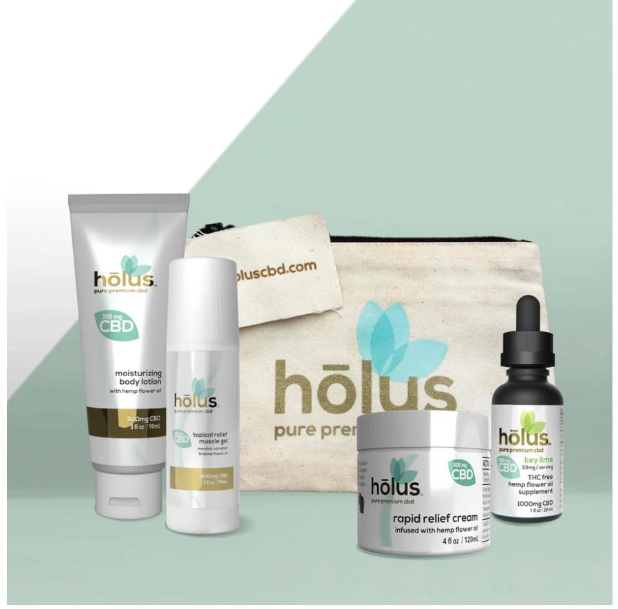 Holus Premium CBD Products