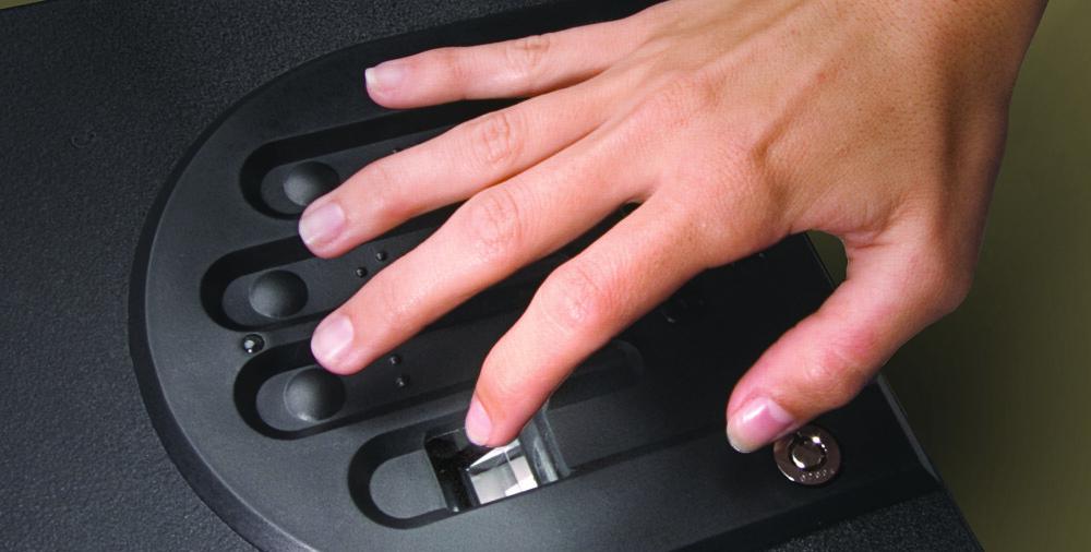 fingerprints biometric lock